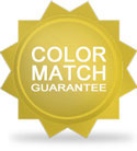 PaintScratch Color Match Guarantee Badge