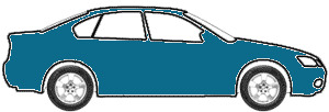 Alaska Blue Metalic  touch up paint for 1973 Volkswagen Super Beetle