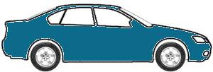 Alaska Blue Metalic  touch up paint for 1973 Volkswagen Sedan