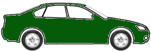 Amazon Green Metallic  touch up paint for 1999 Mercury Tracer