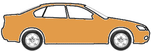 Amber Firemist Metallic touch up paint for 1978 Buick All Models
