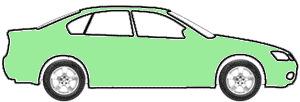 Apple Green Metallic  touch up paint for 2009 Chevrolet Matiz
