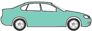 Aqua Metallic  touch up paint for 1992 Pontiac Firefly