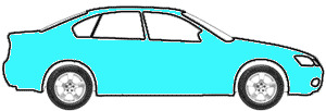 Aquamarine touch up paint for 1962 Buick All Models