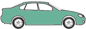 Aquamarine Poly touch up paint for 1967 Buick All Models