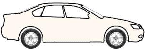 Aspen White touch up paint for 1989 Mitsubishi Precis