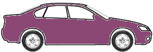Aubergine Metallic  touch up paint for 1995 Volvo All Models