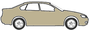 Beige Metallic  touch up paint for 1975 Volvo All Models