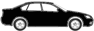 Black  touch up paint for 2009 Cadillac DTS