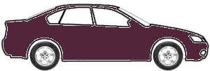 Black Cherry Pearl Metallic  touch up paint for 1991 Dodge Caravan