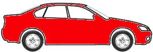 Blood Orange touch up paint for 1973 Volkswagen Super Beetle