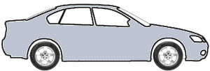 Bothnia Blue Metallic  touch up paint for 1995 Mitsubishi Mirage