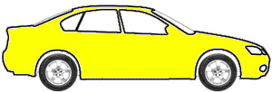 Bright Yellow touch up paint for 1969 Mercury Cougar
