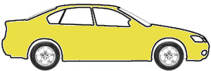 Bright Yellow touch up paint for 1975 Dodge Colt