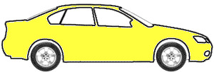 Bright Yellow touch up paint for 1976 Dodge Colt