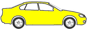 Bright Yellow touch up paint for 1980 Dodge Challenger