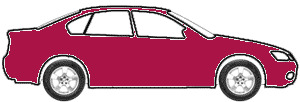 Burgundy Pearl  touch up paint for 1990 Nissan Axxess