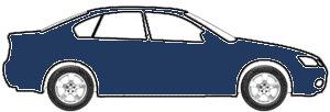Capri Blue Metallic touch up paint for 2011 Mercedes-Benz C-Class