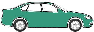 Capri Green Metallic  touch up paint for 1992 Volkswagen Golf