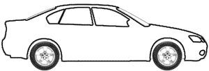 Cashmere White Metallic Tricoat (matt) touch up paint for 2016 Mercedes-Benz SL-Class
