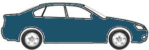Caspian Blue Metallic touch up paint for 2013 Mercedes-Benz SLS-Class