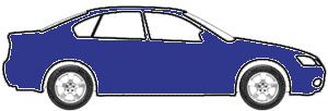 Cavansite Blue Metallic touch up paint for 2013 Mercedes-Benz SLK-Class