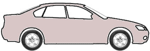 Chateau Beige Metallic  touch up paint for 1985 Mitsubishi Galant