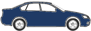 Commodore Blue Metallic touch up paint for 1976 Cadillac All Models