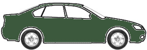 Connaught Green touch up paint for 2002 Morgan All Models