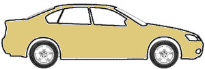 Cornado Gold Metallic  touch up paint for 1981 Volvo Coupe