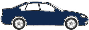 Dark Blue touch up paint for 2007 Ford Police Car