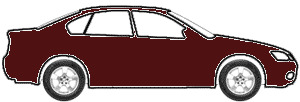 Dark Cherry Metallic  touch up paint for 2009 Lincoln Town Car