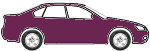 Dark Cherry Metallic  touch up paint for 1999 Oldsmobile Cutlass