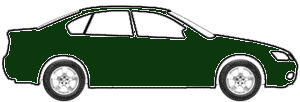 Dark Green Metallic touch up paint for 1970 Buick All Models