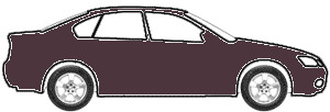 Dark Maroon touch up paint for 1970 Mercury Cougar