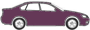 Dark Mauve Pearl Metallic  touch up paint for 1992 Lexus ES300