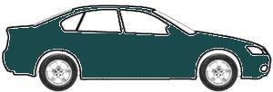 Dark Satin Green Metallic  touch up paint for 2004 Ford Ranger