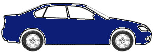 Denim Blue Metallic  touch up paint for 1998 Ford Escort