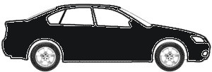 Diamond Black Metallic  touch up paint for 1990 BMW 733