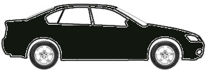 Extra Black touch up paint for 1988 Subaru 4-door coupe