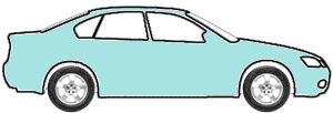 Glacial Blue (PPG 12617) touch up paint for 1963 Ford Falcon