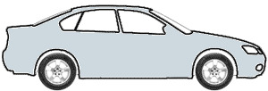 Grace Silver Metallic  touch up paint for 1989 Mitsubishi Galant
