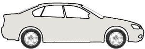 Grace Silver Metallic  touch up paint for 1991 Mitsubishi 3000GT