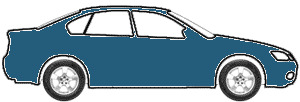 Guardsman Blue Poly. touch up paint for 1964 Ford Mustang