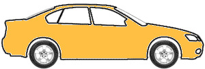 Imola Yellow  touch up paint for 2000 Audi S4
