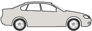 Italian Silver Metallic  touch up paint for 1984 Mitsubishi Cordia