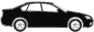 Jet Black (matt) touch up paint for 2009 Dodge Challenger