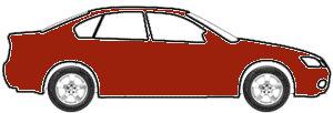 Kansas Red touch up paint for 1972 Volkswagen Sedan