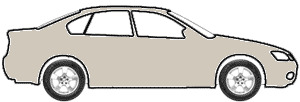 La Salle Silver Metallic  touch up paint for 1991 Mitsubishi Mirage