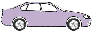 Lavendar Frost Metallic  touch up paint for 1966 Fleet Basecoat